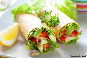 رژیم غذایی دش ، غذای سالم