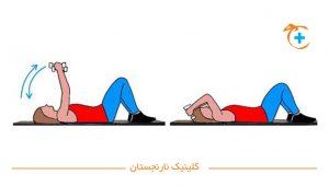 سفت کردن بازو ها با ورزش