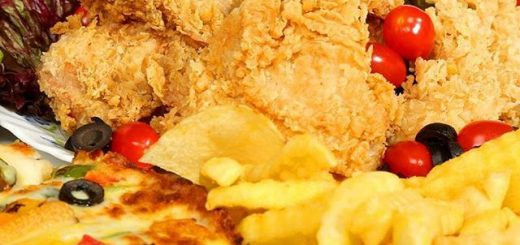 مرغ سرخ شده - کلینیک نارنجستان